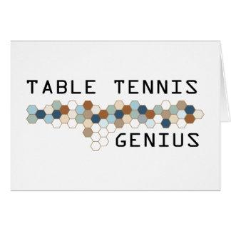 Table Tennis Genius Cards