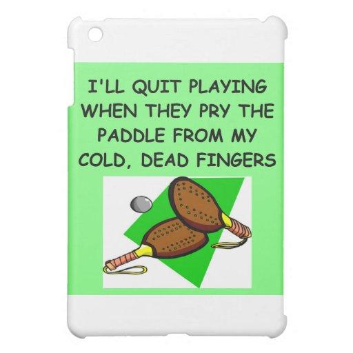 table tennis iPad mini case
