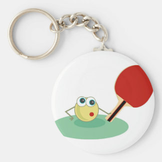 Table Tennis Keychain