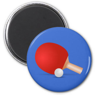 Table Tennis Fridge Magnet