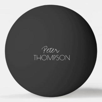 table tennis monogram black_ball ping pong ball