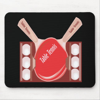 Table Tennis Mouse Pads