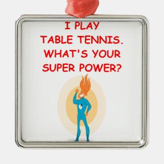 table tennis ornament