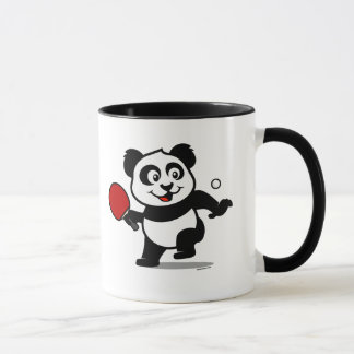 Table Tennis Panda Mug