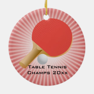 Table Tennis / Ping Pong Ornament