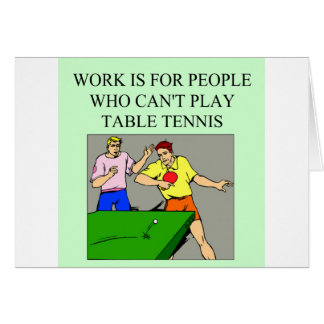 table tennis player card