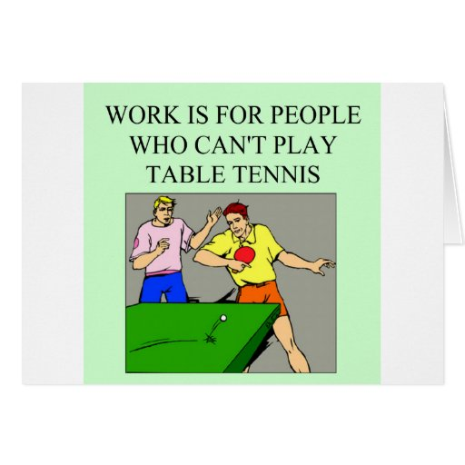table tennis player cards