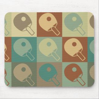Table Tennis Pop Art Mouse Pad