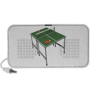 Table Tennis iPhone Speakers