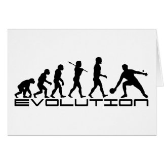 Table Tennis Sport Evolution Art Card