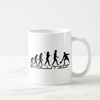 Table Tennis Sport Evolution Art Coffee Mug