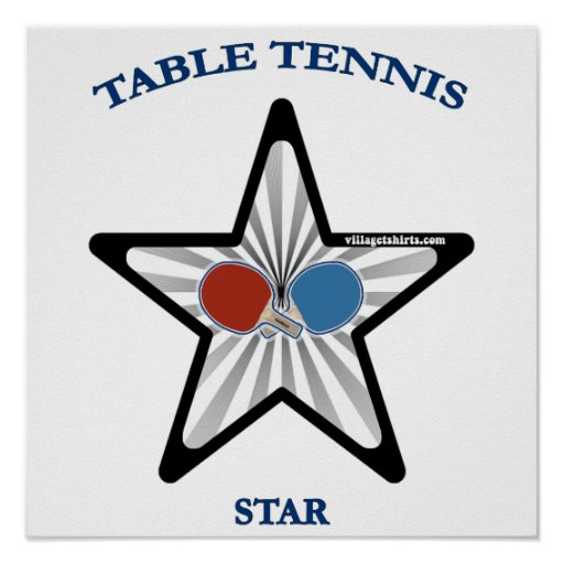 Table Tennis Star Posters