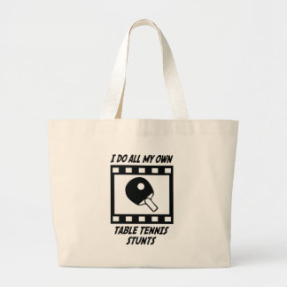 Table Tennis Stunts Canvas Bag