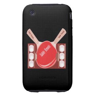 Table Tennis Tough iPhone 3 Case