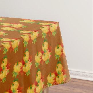 "Tablecloth ""60x84"" Autumn Leaves/Pumpkins"