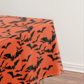 "Tablecloth ""60x84"" -Halloween Bats"