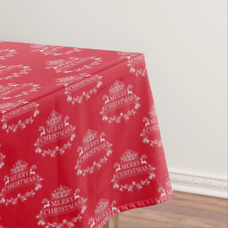 "Tablecloth ""60x84"" Merry Christmas"
