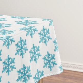 "Tablecloth ""60x84""  Snowflakes"