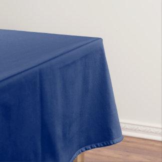 Tablecloth Cotton uni Blue