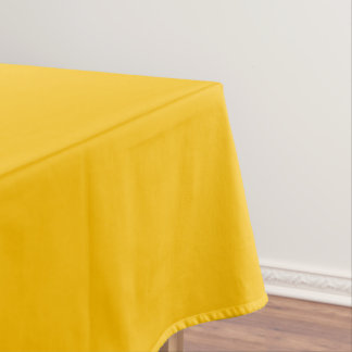 Tablecloth Cotton uni Yellow