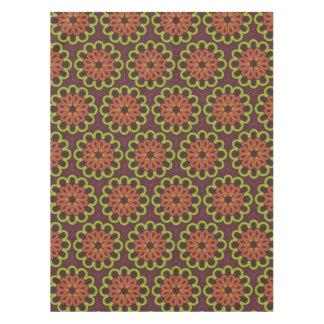Tablecloth Jimette Design brown orange and yellow