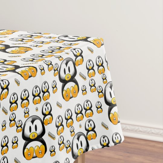 Tablecloth Penguins