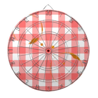 Tablecloth Ring Stains Dartboard