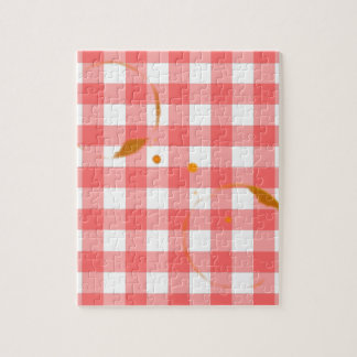 Tablecloth Ring Stains Jigsaw Puzzle