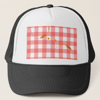 Tablecloth Ring Stains Trucker Hat