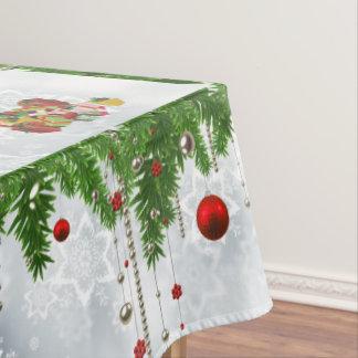 tablecloth Santa