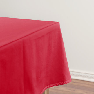 Tablecloth uni Red Large