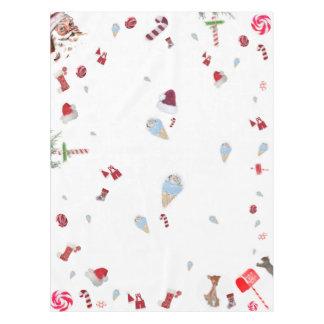 Tablecloths cotton CHRISTMAS Barley sugar