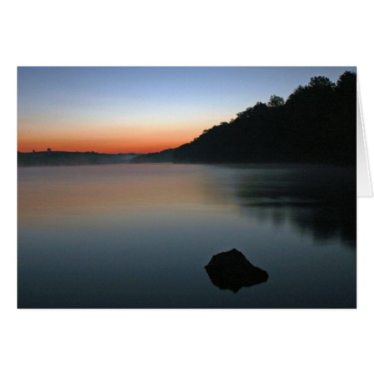 Tablerock Sunrise Card