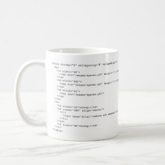 Tables Are Awesome! Coffee Mug