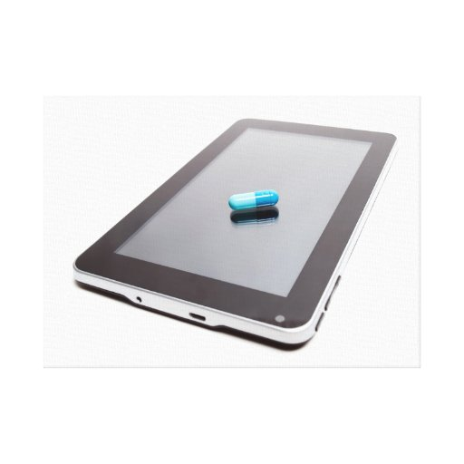 Tablet addiction canvas prints