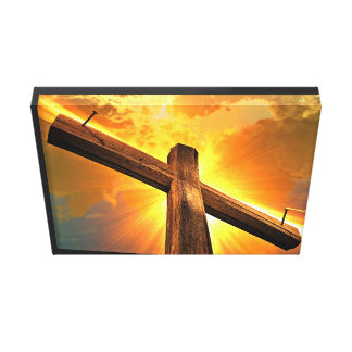 Tablet Stretched Canvas Print
