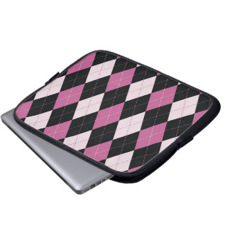 Tablet & Laptop Sleeve - Argyle D  - Doll House