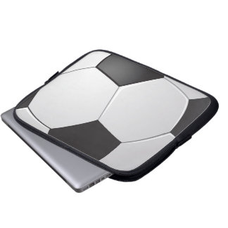 Tablet & Laptop Sleeve - Soccer Ball