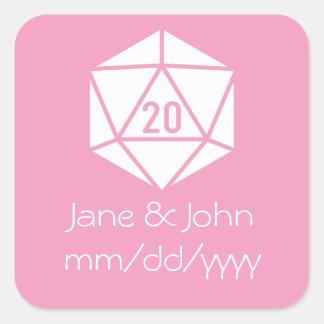 Tabletop Chic in Petal Pink Sticker