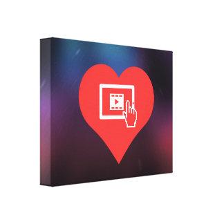 Tablets Symbol Gallery Wrap Canvas