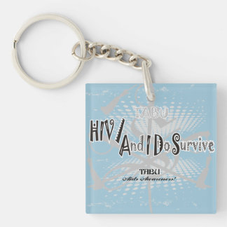 TABU HIV/Aids awareness Key Chain