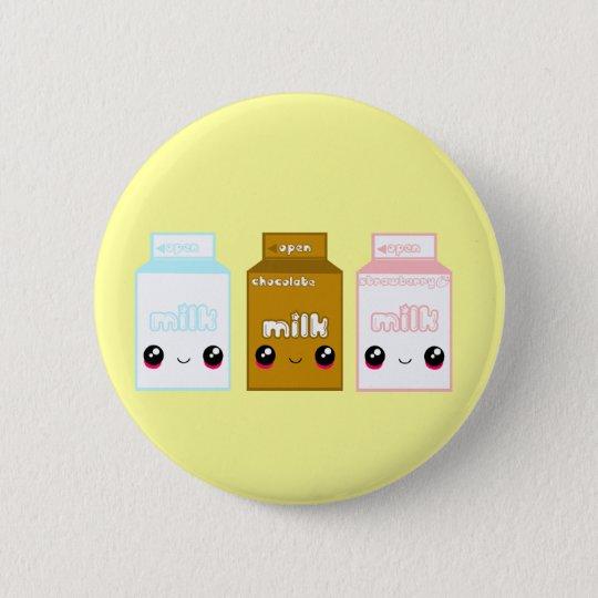 Tabu Japan Milk Line- Triple 6 Cm Round Badge