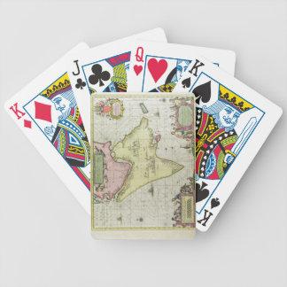Tabula Magellanica, Quatierrae del Fuego, plate 18 Bicycle Playing Cards