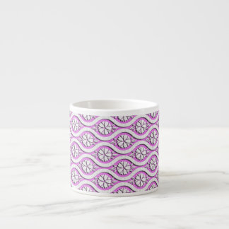 Tachiwaku with cherry blossoms japanese pattern espresso cup