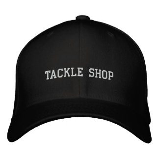 TACKLE SHOP EMBROIDERED CAP