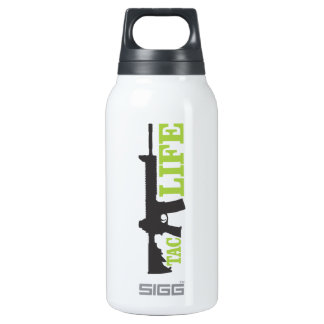 TacLife, Custom Thermo (0.3L), White Insulated Water Bottle