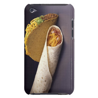 Taco and bean burrito iPod touch Case-Mate case