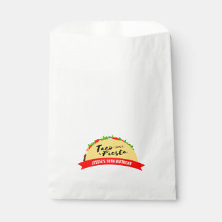 Taco 'Bout A Fiesta Favour Bags