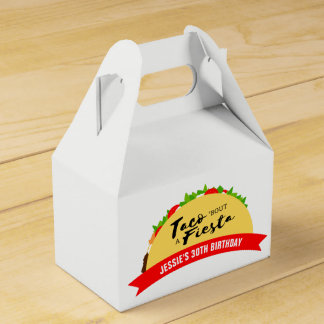 Taco 'Bout A Fiesta Favour Box