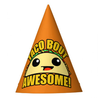 Taco Bout Awesome Party Hat